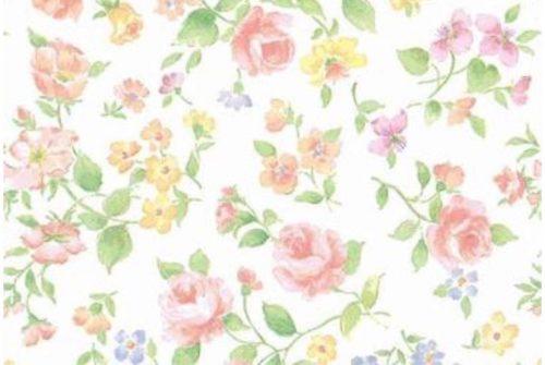 花柄のイラスト