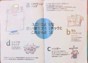 ユニクロ小冊子中身の画像