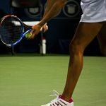 女子テニス選手の画像