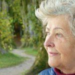 美しい高齢者の画像