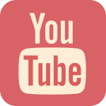 YouTubeのロゴのイラスト
